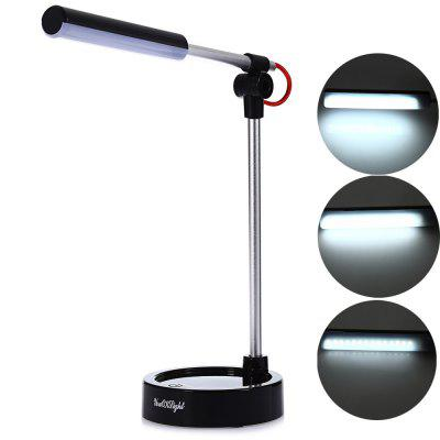 Youoklight 2.8W 5V USB LED Metal Folding Work Desk LampTable Lamps<br>Youoklight 2.8W 5V USB LED Metal Folding Work Desk Lamp<br><br>Bulb Base: USB<br>Bulb Included: Yes<br>Color Temperature or Wavelength: 6000K<br>Decoration Material: Metal<br>Features: Eye Protection, LED<br>Finish (??????????): Plastics<br>Fixture Material: Metal<br>Light Direction: Ambient Light<br>Light Source Color: Cold White<br>Overall Height ( CM ): 26.8<br>Overall Length ( CM ): 22<br>Package Contents: 1 x Table Lamp, 1 x USB Line<br>Package size (L x W x H): 27.50 x 12.00 x 10.80 cm / 10.83 x 4.72 x 4.25 inches<br>Package weight: 0.3220 kg<br>Power Supply: Li-ion Battery<br>Product size (L x W x H): 26.80 x 11.50 x 10.50 cm / 10.55 x 4.53 x 4.13 inches<br>Product weight: 0.2050 kg<br>Shade Material: ABS<br>Style: Simple, Modern Style<br>Switch Type: On or Off Switch<br>Type: Desk Lamp<br>Voltage ( V ): DC5<br>Wattage: 2.8