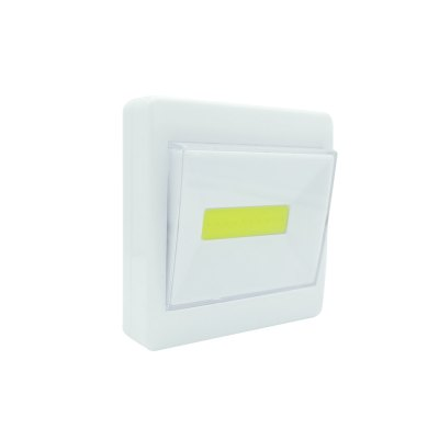 Brelong COB Cordless Battery Operated Switch Night Light for Bedroom Closet Cabinet Kitechen Basement HallwayNight Lights<br>Brelong COB Cordless Battery Operated Switch Night Light for Bedroom Closet Cabinet Kitechen Basement Hallway<br><br>Battery Quantity: 3<br>Color Temperature or Wavelength: 6000 - 6500K<br>Connector Type: Battery<br>Features: Decorative<br>Light Source Color: White<br>Light Type: LED Night Light<br>Mini Voltage: 4.5V<br>Package Contents: 1x Light<br>Package size (L x W x H): 9.00 x 9.00 x 3.00 cm / 3.54 x 3.54 x 1.18 inches<br>Package weight: 0.0700 kg<br>Power Source: Battery<br>Product size (L x W x H): 8.50 x 8.50 x 2.50 cm / 3.35 x 3.35 x 0.98 inches<br>Product weight: 0.0620 kg<br>Quantity: 1<br>Style: Artistic Style<br>Wattage: 3W
