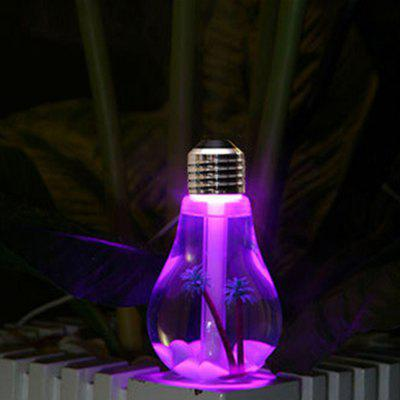 Brelong USB DC 5V 7 Colors Changes Night Light Ultrasonic Humidifier Air Purifier 400MLNight Lights<br>Brelong USB DC 5V 7 Colors Changes Night Light Ultrasonic Humidifier Air Purifier 400ML<br><br>Color Temperature or Wavelength: 625nm/520nm/455nm<br>Connector Type: USB<br>Features: Color-changing<br>Light Source Color: RGB<br>Light Type: LED Night Light<br>Mini Voltage: 5V<br>Package Contents: 1 x Brelong Humidifier Lamp, 1 x Usb Cable<br>Package size (L x W x H): 9.00 x 9.00 x 16.00 cm / 3.54 x 3.54 x 6.3 inches<br>Package weight: 0.2100 kg<br>Power Source: DC 5V<br>Product size (L x W x H): 8.80 x 8.80 x 15.30 cm / 3.46 x 3.46 x 6.02 inches<br>Product weight: 0.1000 kg<br>Quantity: 1<br>Style: Modern, Comtemporary<br>Wattage: 2W