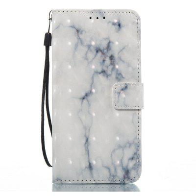 Buy OYSTER 3D Marble Pattern Painted Pu Phone for HUAWEI P8 Lite 2017 for $5.51 in GearBest store