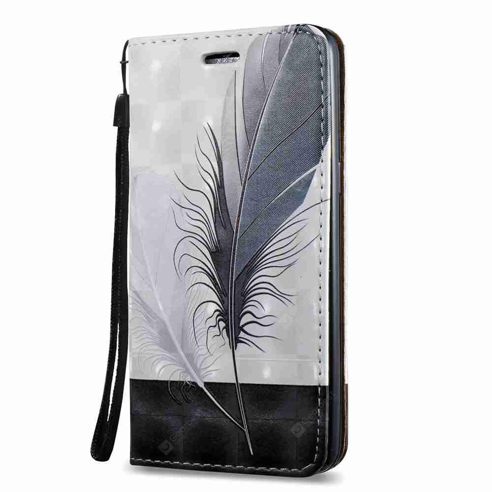 New Style Magnetic 3D Embossed Painted Pu Phone Case for Samsung Galaxy J2 Prime