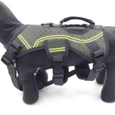 Lovoyager Lvh15003 Chest Harness for Dog with HandleDog Carriers<br>Lovoyager Lvh15003 Chest Harness for Dog with Handle<br><br>Color: Gray<br>For: Dogs<br>Functions: Adjustable<br>Item: dog chest harness<br>Material: Rubber, durable hardware, EVA, nylon, neoprene with reflective mesh<br>Package size (L x W x H): 40.00 x 30.00 x 8.00 cm / 15.75 x 11.81 x 3.15 inches<br>Package weight: 0.2400 kg<br>Season: Spring, Autumn, Summer<br>Type: Others