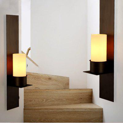 Lanshi Vintage Metal Wall Light with Milk White Glass Shade Black FinishWall Lights<br>Lanshi Vintage Metal Wall Light with Milk White Glass Shade Black Finish<br><br>Bulb Base: E27,E26<br>Bulb Included: No<br>Certifications: CE,FCC<br>Decoration Material: Glass<br>Finish: Black<br>Fixture Material: Glass,Metal<br>Light Direction: Ambient Light<br>Number of Bulbs: 1<br>Package Contents: 1 ? The Lamp Body, 1 ? Glass Shade, 1 ? Installation Instruction<br>Package size (L x W x H): 64.00 x 22.00 x 22.00 cm / 25.2 x 8.66 x 8.66 inches<br>Package weight: 3.0000 kg<br>Power Supply: AC Charger<br>Product size (L x W x H): 18.00 x 18.00 x 60.00 cm / 7.09 x 7.09 x 23.62 inches<br>Product weight: 2.6000 kg<br>Production Mode: Self-produce<br>Selling Point: Multi-shade<br>Shade Material: Glass<br>Style: Vintage, Vintage antique, Novelty<br>Suggested Room Size: 10 - 15 Square Meters<br>Type: Wall Sconces<br>Voltage: 110V-120V,220V-240V<br>Wattage: 60W<br>Wattage per Bulb ( W ): 60