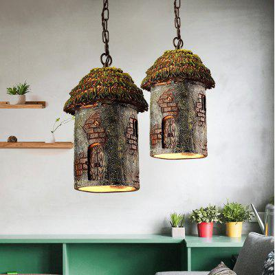 Lanshi Rustic Pendant Light Vintage House Shape E26 / E27Pendant Light<br>Lanshi Rustic Pendant Light Vintage House Shape E26 / E27<br><br>Battery Included: No<br>Brand: Lanshi<br>Bulb Base: E26,E27<br>Bulb Included: No<br>Bulb Type: Incandescent,LED<br>Certifications: CE,FCC<br>Chain / Cord Adjustable or Not: Chain / Cord Adjustable<br>Chain / Cord Length ( CM ): 65<br>Decoration Material: Metal,Resin<br>Features: Designers<br>Finish: Others<br>Fixture Height ( CM ): 30<br>Fixture Length ( CM ): 22<br>Fixture Material: Metal,Resin<br>Fixture Width ( CM ): 22<br>Light Direction: Downlight<br>Number of Bulb: 1 Bulb<br>Number of Bulb Sockets: 1<br>Number of Tiers: Single Tier<br>Package Contents: 1 ? Pendant Light , 1 ? Installation Instruction<br>Package size (L x W x H): 34.00 x 26.00 x 26.00 cm / 13.39 x 10.24 x 10.24 inches<br>Package weight: 3.2000 kg<br>Product size (L x W x H): 22.00 x 22.00 x 30.00 cm / 8.66 x 8.66 x 11.81 inches<br>Product weight: 2.8000 kg<br>Shade Material: Resin<br>Style: Country, Artistic Style<br>Suggested Room Size: 10 - 15?<br>Suggested Space Fit: Bedroom,Cafes,Dining Room,Entry,Hallway,Indoors,Living Room,Pathway<br>Type: Pendant Light<br>Voltage ( V ): 110V - 240V,AC220 - 240<br>Wattage (W): 60W<br>Wattage per Bulb ( W ): 60