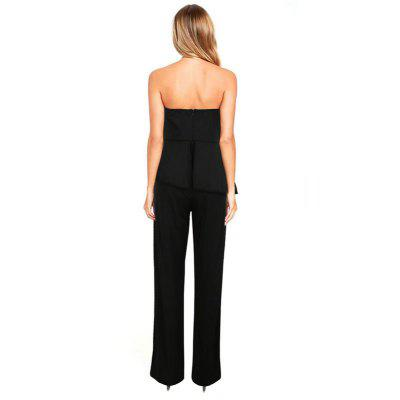 Womens Jumpsuits Solid Color Patchwork Strapless JumpsuitsJumpsuits &amp; Rompers<br>Womens Jumpsuits Solid Color Patchwork Strapless Jumpsuits<br><br>Elasticity: Micro-elastic<br>Fabric Type: Broadcloth<br>Fit Type: Regular<br>Material: Acetate<br>Package Contents: 1 x Jumpsuit<br>Package weight: 0.3000 kg<br>Pattern Type: Solid<br>Style: Sexy<br>With Belt: No