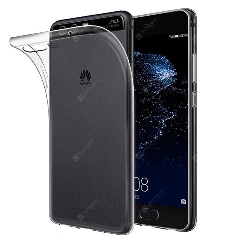 Ultra-Thin Transparent Tpu Back Case for Huawei P10 Plus