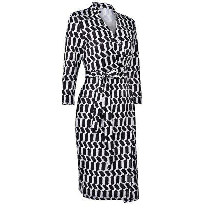 2017 Women Sexy Sheath Elegant V-Neck Collar Wrapped Belted Bow Striped Party Office Work Business Bodycon Pencil DressWomens Dresses<br>2017 Women Sexy Sheath Elegant V-Neck Collar Wrapped Belted Bow Striped Party Office Work Business Bodycon Pencil Dress<br><br>Dresses Length: Knee-Length<br>Elasticity: Elastic<br>Embellishment: Sashes<br>Fabric Type: Worsted<br>Material: Spandex, Polyester<br>Neckline: V-Neck<br>Package Contents: 1 x Dress<br>Pattern Type: Geometric<br>Season: Fall<br>Silhouette: Straight<br>Sleeve Length: 3/4 Length Sleeves<br>Style: Fashion<br>Weight: 0.4000kg<br>With Belt: Yes