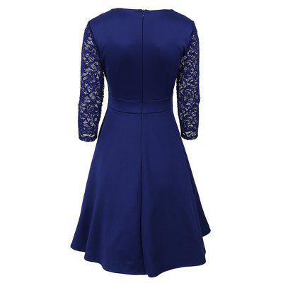 50S 60S Style Vintage Dresses Cocktail Rockabilly Women Lace 3/4 Sleeve A Line Cocktail Swing DressWomens Dresses<br>50S 60S Style Vintage Dresses Cocktail Rockabilly Women Lace 3/4 Sleeve A Line Cocktail Swing Dress<br><br>Dress Type: Tunic Dress<br>Dresses Length: Knee-Length<br>Elasticity: Elastic<br>Embellishment: Lace<br>Material: Polyester, Spandex, Lace<br>Neckline: Square Collar<br>Occasion: Prom, Office, Going Out, Evening, Cocktail &amp; Party, Casual , Work<br>Package Contents: 1 x Dress<br>Pattern Type: Others<br>Season: Fall<br>Silhouette: A-Line<br>Sleeve Length: 3/4 Length Sleeves<br>Style: Work<br>Weight: 0.4000kg<br>With Belt: No