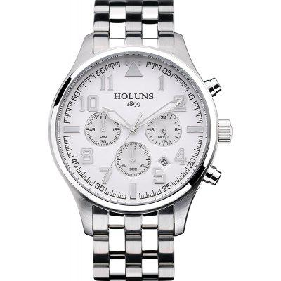HOLUNS 4609 Business Quartz Steel Band Male Watch