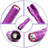 U`King Xml T6 1000LM 3 Mode Built-In Battery Multifunction Rechargeable Flashlight Torch Set - PURPLE