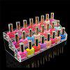 Buy 3 Tier Clear Acrylic Display Stand Holder Nail Polish Bottle Rack Makeup Cosmetic Lipstick Shelf TRANSPARENT