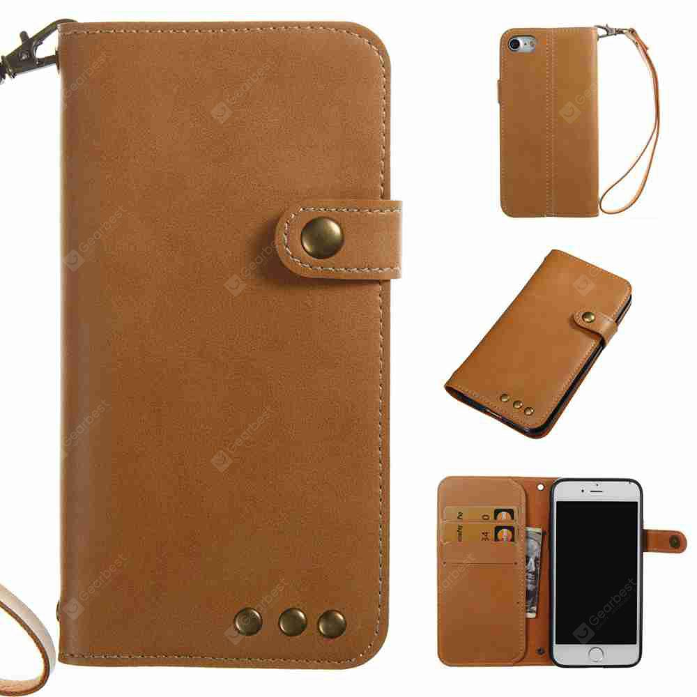 Crazy Horse Pattern Retro Leather Phone Case for Iphone 7  / 8