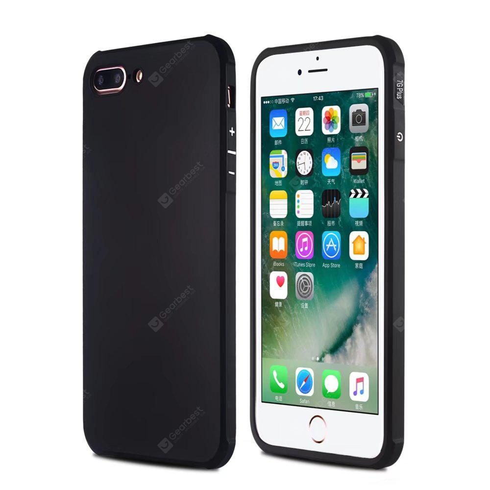 Case de Celular Airbag Tpu para iPhone 7 Plus / 8 Plus-Preto