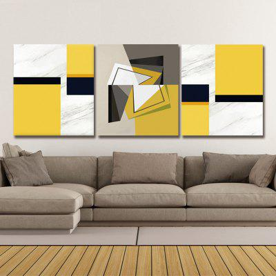 Dyc 10032 3PCS Abstract Print Art Ready To Hang Paintings