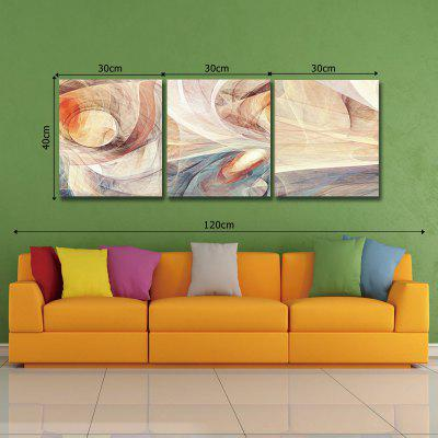 Dyc 10033 3pcs Abstract Print Art Ready To Hang Paintings