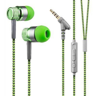 Kanen IP-818 Earphone Earbuds Stereo In-ear Headphone with Microphone