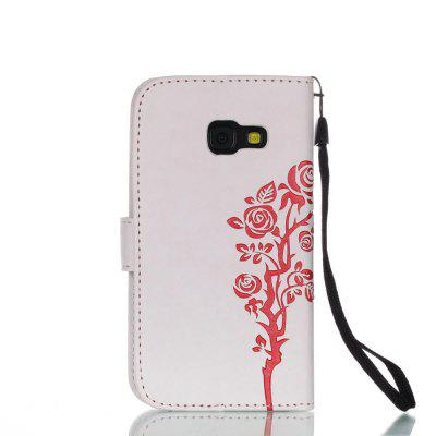 Wkae Double Side Embossing Rose Flower Synthetic Leather Wallet Case Soft Silicone Back Cover with Flip Kickstand And Lanyard for Samsung Galaxy A3 2017Samsung A Series<br>Wkae Double Side Embossing Rose Flower Synthetic Leather Wallet Case Soft Silicone Back Cover with Flip Kickstand And Lanyard for Samsung Galaxy A3 2017<br><br>Features: Full Body Cases, Cases with Stand, With Credit Card Holder, Anti-knock, Dirt-resistant<br>For: Samsung Mobile Phone<br>Material: TPU, PU Leather<br>Package Contents: 1 x Phone Case<br>Package size (L x W x H): 20.00 x 15.00 x 2.00 cm / 7.87 x 5.91 x 0.79 inches<br>Package weight: 0.2000 kg<br>Style: Special Design