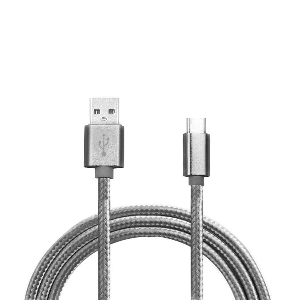 2M 3.4A Quick Charge Usb 3.1 Type-C Usb 2.0 Charging Data Transfer Cable GRAY