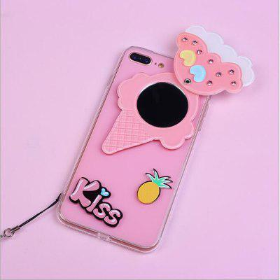 candy Color Behind The Mirror Lollipop And The Soft Side Hang Rope for Iphone 7 PlusiPhone Cases/Covers<br>candy Color Behind The Mirror Lollipop And The Soft Side Hang Rope for Iphone 7 Plus<br><br>Compatible for Apple: iPhone 7 Plus<br>Features: With Mirror<br>Material: Silicone<br>Package Contents: 1 x Phone Case , 1 x Sling<br>Package size (L x W x H): 15.00 x 10.00 x 15.00 cm / 5.91 x 3.94 x 5.91 inches<br>Package weight: 0.1000 kg<br>Style: Cute