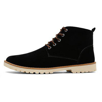 Men New Fashion Casual Shoes Lace-Up Ankle Boots Size 39-44Mens Boots<br>Men New Fashion Casual Shoes Lace-Up Ankle Boots Size 39-44<br><br>Available Size: 39-44<br>Closure Type: Lace-Up<br>Embellishment: None<br>Gender: For Men<br>Outsole Material: Rubber<br>Package Contents: 1? Pair of Shoes<br>Pattern Type: Solid<br>Season: Spring/Fall<br>Toe Shape: Round Toe<br>Toe Style: Closed Toe<br>Upper Material: Leather<br>Weight: 1.2000kg