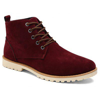 Men New Fashion Casual Shoes Lace-Up Ankle Boots Size 39-44