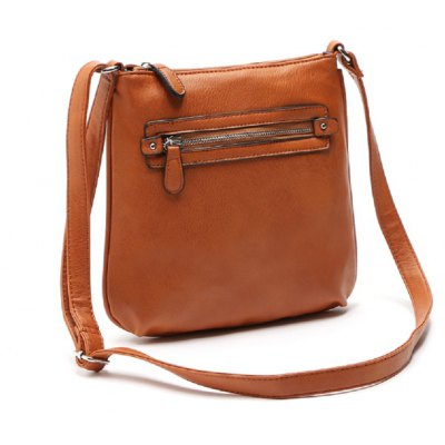 Vintage Zipper Solid Color Small Crossbody BagCrossbody Bags<br>Vintage Zipper Solid Color Small Crossbody Bag<br><br>Closure Type: Zipper<br>Gender: For Women<br>Handbag Type: Crossbody bag<br>Hardness: Soft<br>Interior: Cell Phone Pocket, Zipper Pouch<br>Main Material: PU<br>Occasion: Versatile<br>Package Contents: 1X Women Crossbody Bag<br>Package size (L x W x H): 25.00 x 28.00 x 27.00 cm / 9.84 x 11.02 x 10.63 inches<br>Package weight: 0.2800 kg<br>Pattern Type: Solid<br>Product size (L x W x H): 23.00 x 26.00 x 25.00 cm / 9.06 x 10.24 x 9.84 inches<br>Strap Length: 135<br>Style: Casual<br>With Pendant: No