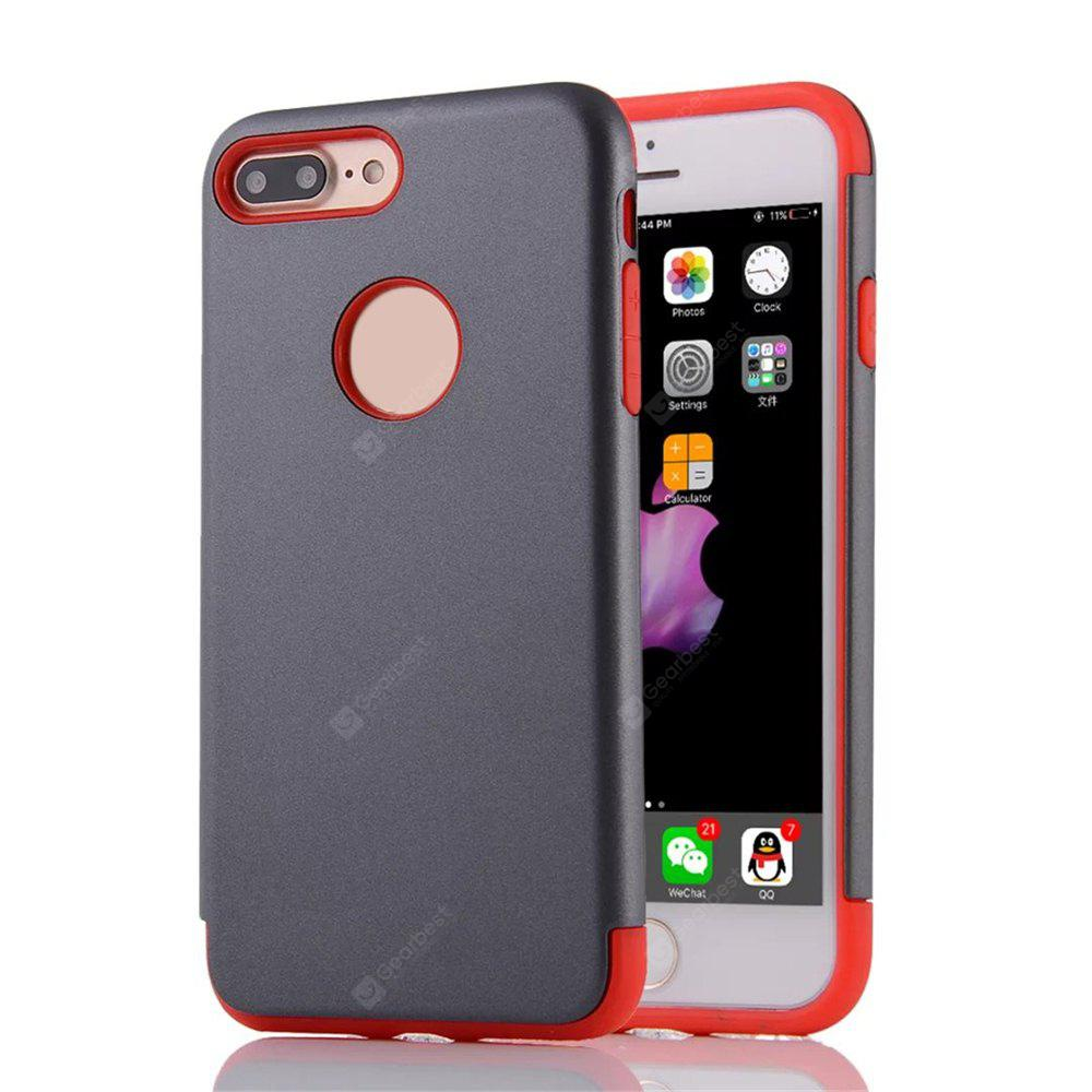 Capa Cobertura Traseira Pc + Tpu Armadura Protetora Legal Mini Sorriso para Iphone 8 Plus / 7 Plus