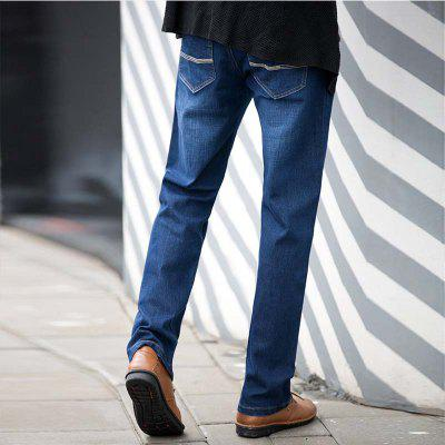 Baiyuan Trousers Slim Fit Denim Jeans BlueMens Pants<br>Baiyuan Trousers Slim Fit Denim Jeans Blue<br><br>Closure Type: Zipper Fly<br>Fabric Type: Twill<br>Fit Type: Regular<br>Material: Jeans<br>Package Contents: 1 x Jeans<br>Pant Length: Long Pants<br>Pant Style: Straight<br>Waist Type: Mid<br>Wash: Light<br>Weight: 0.6000kg