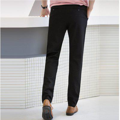 Baiyuan Trousers Autumn Casual Slim Fit Mens Long Pants BlackMens Pants<br>Baiyuan Trousers Autumn Casual Slim Fit Mens Long Pants Black<br><br>Closure Type: Zipper Fly<br>Color: Black<br>Elasticity: Micro-elastic<br>Embellishment: Button,Pockets,Zippers<br>Fabric Type: Broadcloth<br>Fit Type: Skinny<br>Front Style: Pleated<br>Length: Normal<br>Material: Microfiber<br>Package Contents: 1 x Pants<br>Package size (L x W x H): 1.00 x 1.00 x 1.00 cm / 0.39 x 0.39 x 0.39 inches<br>Package weight: 0.6000 kg<br>Pant Style: Straight<br>Pattern Type: Solid<br>Style: Fashion<br>Thickness: Standard<br>Waist Type: Mid<br>With Belt: No