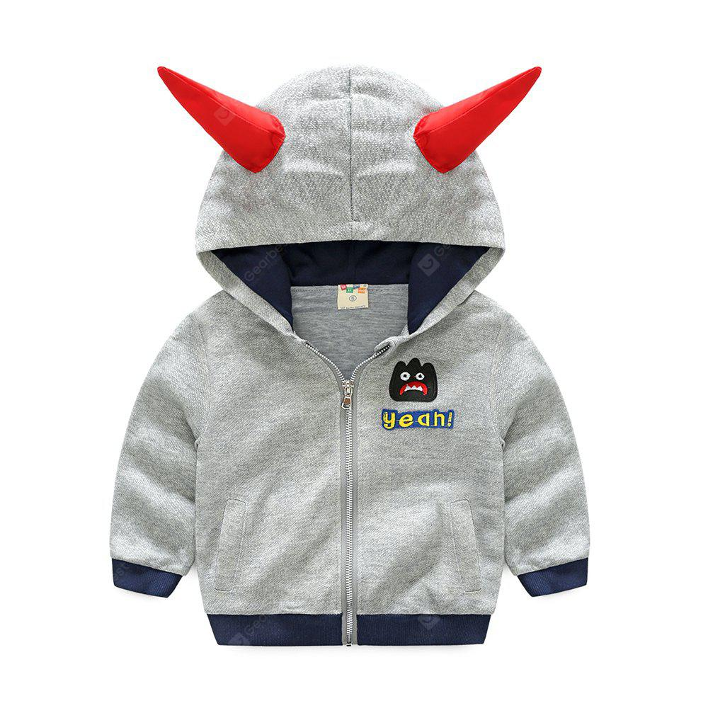 boy Autumn Outfit Thin Baby Pure Cotton Coat Autumn New Coat Korean Edition Cotton Autumn Outfit