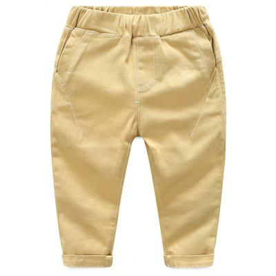 2017 New Spring Children Casual Pants Trousers Pants Cotton Clothing Male Child Simple Tide