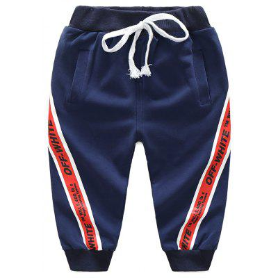 Buy CADETBLUE 120 2017 New Spring And Autumn Boys Sports Pants Baby Korean Version Slim Pants Childrens Fashion Childrens Trousers Tide for $24.02 in GearBest store