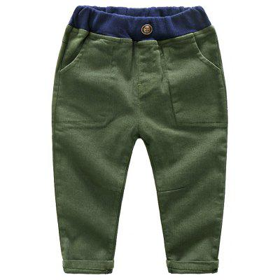 2017 Autumn New Childrens Pure Korean Children Candy Colored Boy Baby Pants