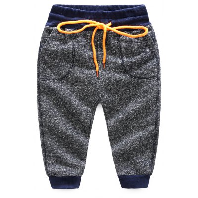 Mens Baby Pants 2017 Spring And Autumn New Children Comfort Cotton Department Casual Pants Korean Version of Loose Boy Sports Pants