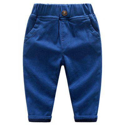 Cashmere Trousers Thick Cotton Trousers Boy Child Baby Pants
