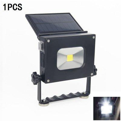 1PCS 10W Dc5v Cold White Mini Ultra Thin Flood Light Usb Charge Night Light To Carry The Solar Energy