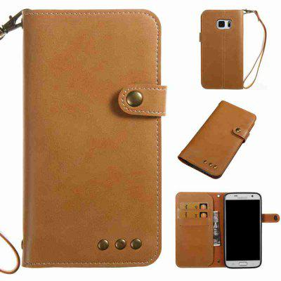 Crazy Horse Pattern Retro Leather Phone Case for Samsung Galaxy S7