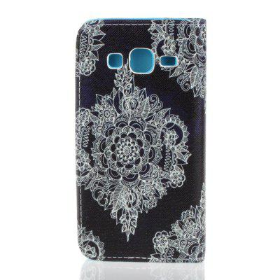 Painted PU Phone Case for Samsung Galaxy J3 2016 / J3 2015Samsung J Series<br>Painted PU Phone Case for Samsung Galaxy J3 2016 / J3 2015<br><br>Compatible for Samsung: Samsung Galaxy J3<br>Features: Cases with Stand, With Credit Card Holder, Dirt-resistant<br>For: Samsung Mobile Phone<br>Material: TPU, PU Leather<br>Package Contents: 1 x Phone Case<br>Package size (L x W x H): 14.50 x 7.50 x 1.50 cm / 5.71 x 2.95 x 0.59 inches<br>Package weight: 0.0630 kg<br>Style: Novelty