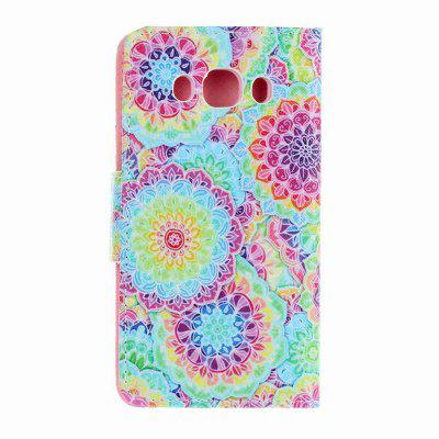 Painted PU Phone Case for Samsung Galaxy J5 2016Samsung J Series<br>Painted PU Phone Case for Samsung Galaxy J5 2016<br><br>Features: Cases with Stand, With Credit Card Holder, Dirt-resistant<br>For: Samsung Mobile Phone<br>Material: TPU, PU Leather<br>Package Contents: 1 x Phone Case<br>Package size (L x W x H): 15.00 x 8.00 x 1.50 cm / 5.91 x 3.15 x 0.59 inches<br>Package weight: 0.0630 kg<br>Style: Novelty