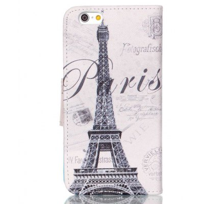 Painted PU Phone Case for iPhone 6S Plus / 6 Plus