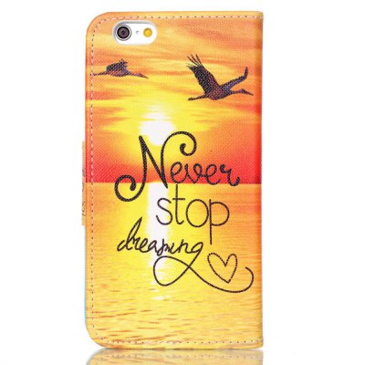 Painted PU Phone Case for iPhone 6S / 6iPhone Cases/Covers<br>Painted PU Phone Case for iPhone 6S / 6<br><br>Compatible for Apple: iPhone 6, iPhone 6S<br>Features: Cases with Stand, With Credit Card Holder, Dirt-resistant, Wallet Case<br>Material: TPU, PU Leather<br>Package Contents: 1 x Phone Case<br>Package size (L x W x H): 14.00 x 7.50 x 1.60 cm / 5.51 x 2.95 x 0.63 inches<br>Package weight: 0.0570 kg<br>Style: Novelty