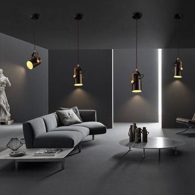 Lanshi Retro LED Industrial Style Personality Pendant LightPendant Light<br>Lanshi Retro LED Industrial Style Personality Pendant Light<br><br>Battery Included: No<br>Brand: Lanshi<br>Bulb Base: E27<br>Bulb Included: No<br>Bulb Type: Incandescent<br>Certifications: CE,FCC<br>Chain / Cord Adjustable or Not: Chain / Cord Adjustable<br>Chain / Cord Length ( CM ): 100<br>Decoration Material: Metal<br>Dimmable: No<br>Features: Wrought Iron<br>Finish: Black,Gold,White<br>Fixture Height ( CM ): 20<br>Fixture Length ( CM ): 12<br>Fixture Material: Metal<br>Fixture Width ( CM ): 12<br>Light Direction: Downlight<br>Number of Bulb: 1 Bulb<br>Number of Bulb Sockets: 1<br>Package Contents: 1 x The Lamp Body, 1 x Installation Instruction<br>Package size (L x W x H): 24.00 x 16.00 x 16.00 cm / 9.45 x 6.3 x 6.3 inches<br>Package weight: 2.0000 kg<br>Product weight: 1.5000 kg<br>Remote Control Supported: No<br>Shade Material: Metal<br>Style: Vintage antique, Simple Style<br>Suggested Room Size: 10 - 15?<br>Suggested Space Fit: Bedroom,Dining Room,Living Room<br>Type: Pendant Light<br>Voltage ( V ): 220V - 240V<br>Wattage per Bulb ( W ): 60