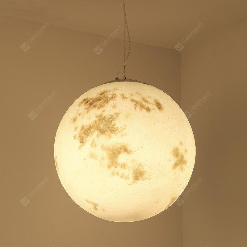 Lanshi New Creative Full Moon Shape Pendant Light