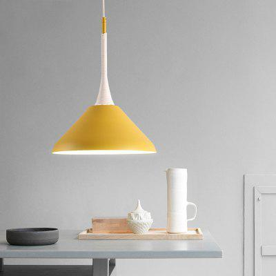 Lanshi D - 8199 Pendant Light Nordic Minimalist StylePendant Light<br>Lanshi D - 8199 Pendant Light Nordic Minimalist Style<br><br>Battery Included: No<br>Brand: Lanshi<br>Bulb Base: E27<br>Bulb Included: No<br>Certifications: CE,FCC<br>Chain / Cord Adjustable or Not: Chain / Cord Adjustable<br>Chain / Cord Length ( CM ): 50<br>Decoration Material: Metal<br>Dimmable: No<br>Features: Wrought Iron<br>Fixture Height ( CM ): 41<br>Fixture Length ( CM ): 30<br>Fixture Material: Metal<br>Fixture Width ( CM ): 30<br>Light Direction: Downlight<br>Number of Bulb: 1 Bulb<br>Number of Bulb Sockets: 1<br>Number of Tiers: Single Tier<br>Package Contents: 1 x The Lamp Body, 1 x Installation Instruction<br>Package size (L x W x H): 34.00 x 34.00 x 30.00 cm / 13.39 x 13.39 x 11.81 inches<br>Package weight: 2.0000 kg<br>Product weight: 1.5000 kg<br>Remote Control Supported: No<br>Shade Material: Metal<br>Style: Chic &amp; Modern, Country, Artistic Style<br>Suggested Room Size: 10 - 15?<br>Suggested Space Fit: Bedroom,Cafes,Dining Room<br>Type: Pendant Light<br>Voltage ( V ): 220 - 240<br>Wattage (W): 60W<br>Wattage per Bulb ( W ): 60