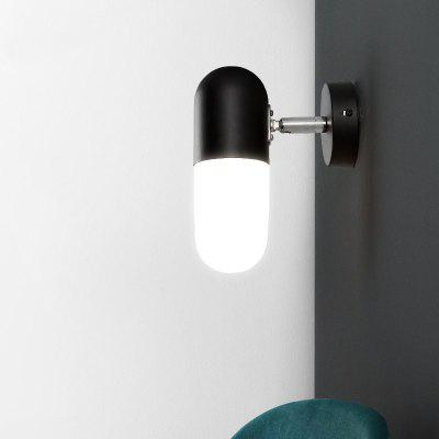 Lanshi Metal Wall Light with White Glass Shade E12 / E14Wall Lights<br>Lanshi Metal Wall Light with White Glass Shade E12 / E14<br><br>Brand: Lanshi<br>Bulb Base: E12,E14<br>Bulb Included: No<br>Certifications: CE,FCC<br>Decoration Material: Glass,Metal<br>Finish: Black<br>Fixture Material: Glass,Metal<br>Light Direction: Ambient Light<br>Number of Bulbs: 1<br>Package Contents: 1 ? Wall Lamp, 1 ? Installation Instruction<br>Package size (L x W x H): 23.00 x 14.00 x 14.00 cm / 9.06 x 5.51 x 5.51 inches<br>Package weight: 1.5000 kg<br>Power Supply: AC Charger<br>Product size (L x W x H): 8.00 x 10.00 x 9.00 cm / 3.15 x 3.94 x 3.54 inches<br>Product weight: 1.1000 kg<br>Production Mode: Self-produce<br>Selling Point: Mini Style<br>Shade Material: Glass<br>Style: Modern/Contemporary<br>Suggested Room Size: 5 - 10 Square Meters<br>Type: Wall Sconces<br>Voltage: 110V-120V,220V-240V<br>Wattage: 40W<br>Wattage per Bulb ( W ): 40