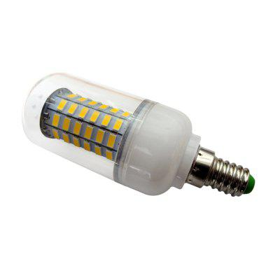6W E14 Led Corn Bulb 69LEDS 5730 85 -265v for Home Dinning RoomCorn Bulbs<br>6W E14 Led Corn Bulb 69LEDS 5730 85 -265v for Home Dinning Room<br><br>Available Light Color: Warm White,Cold White<br>CCT/Wavelength: 5500-6500K,2800-3500K<br>Certifications: CE,RoHs<br>Emitter Types: SMD 5730<br>Features: Low Power Consumption, Energy Saving<br>Function: Home Lighting, Commercial Lighting, Studio and Exhibition Lighting<br>Holder: E14<br>Package Contents: 1 x Led Light<br>Package size (L x W x H): 11.00 x 4.50 x 4.50 cm / 4.33 x 1.77 x 1.77 inches<br>Package weight: 0.0600 kg<br>Sheathing Material: PC<br>Type: Corn Bulbs<br>Voltage (V): 85-260V,AC 85-265
