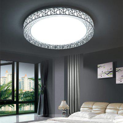 JUEJA Greek Style Iron Art 12W 11 inch LED Ceiling Light for Living Room Bedroom Corridor Balcony