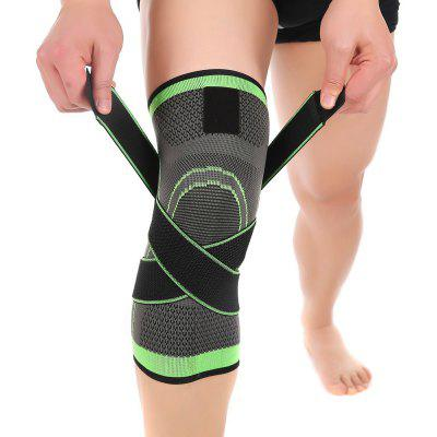 Mumian S13 Three - Dimensional Weaving Compression Adjustable Knee Pad - 1PCS
