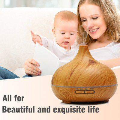 Essential Oil Diffuser Aroma Humidifier 14 Colors Wood Grain Ultrasonic Whisper Quiet Cool Mist Aromatherapy  –  WOOD COLOR Coupon Code 2017