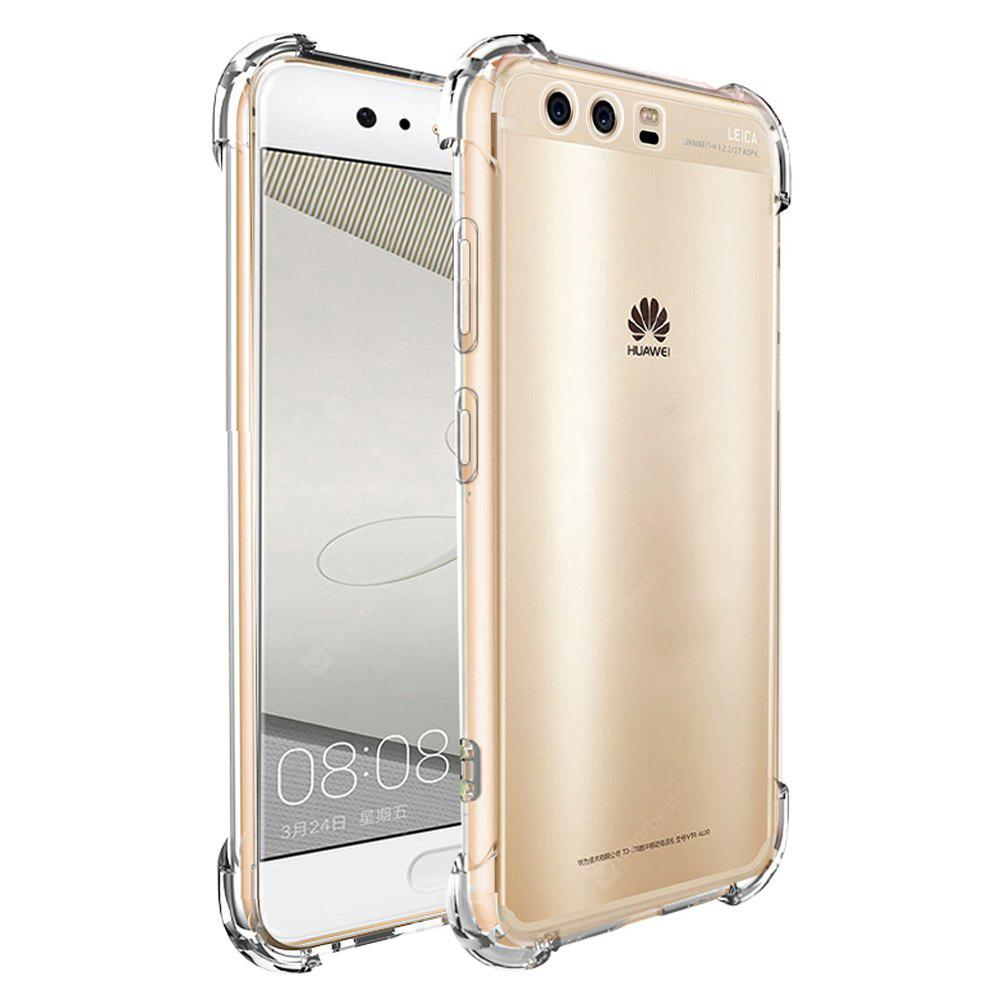 Shockproof Armor Clear Back Case for Huawei P10 Plus